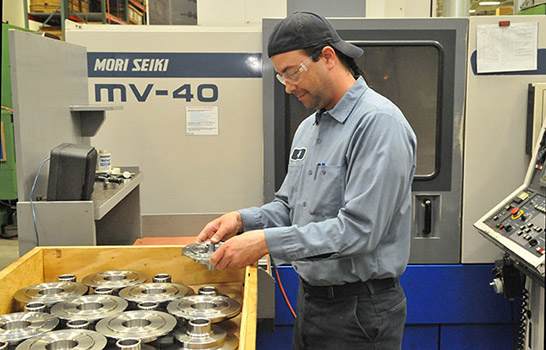 Housing machining